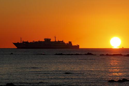 sea españa sun david sol sunrise canon mar barco ship playa andalucia amanecer cádiz franco algeciras reflejos grimaldi 70300 largaexposición bahíadealgeciras 550d sangarcia dgrimaldi