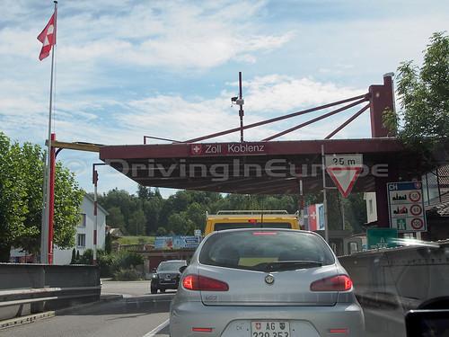 スイス側国境