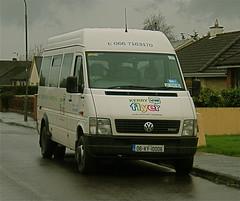 06 KY 10006 of Kerry Flyer community transport in Castleisland