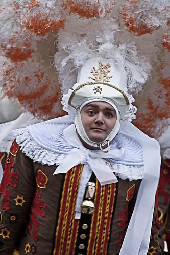 Carnival de Binche 2013
