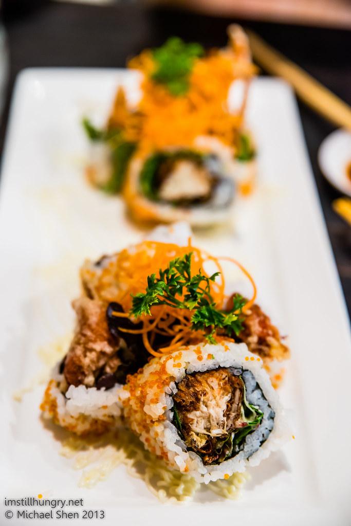 Sushi Samurai spider roll