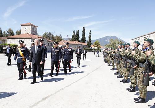 Ομιλία στην τελετή εορτασμού του Αγίου Γεωργίου στη Σχολή Πεζικού στη Χαλκίδα (23/04/12)