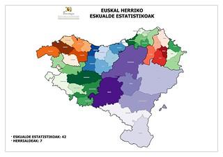 Mapa Euskal Herria Pueblos.Euskal Herriko Lurraldeen Mapak Gaindegia