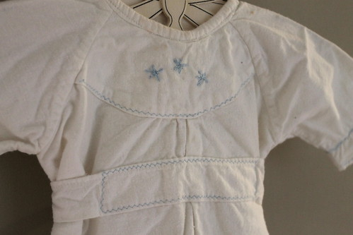 vintage nightgown detail