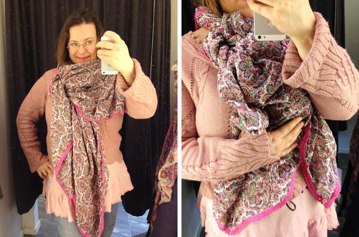 Cabriolet scarf