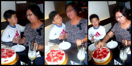 Mom's surprise birthday do 2012