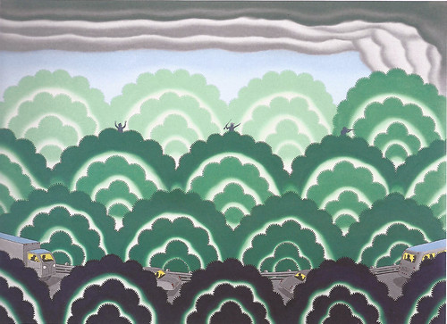 Roger Brown, Forest Fire, 1976