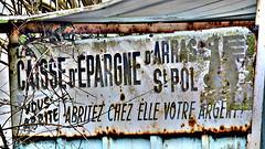 La Caisse d'Epargne vous abrite, abritez chez elle votre argent - Photo of Magnicourt-sur-Canche