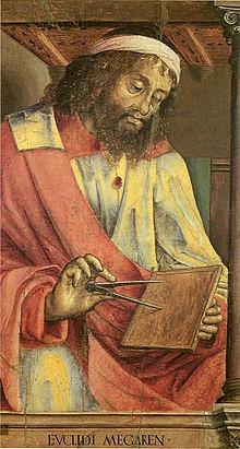 Pintura idealizada de Euclides