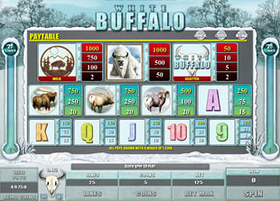 White Buffalo Slots Payout