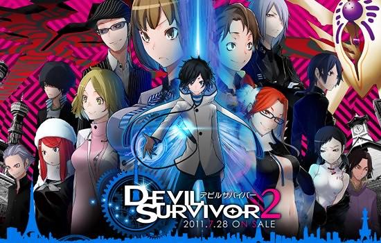 Devil Survivor 2 terá Adaptação para Anime Ainda esse Ano!