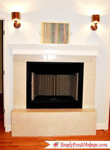 Fireplace ... SimplyFreshVintage.com