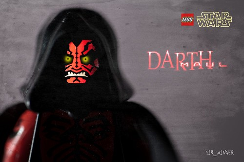 Darth Maul - Star Wars - Lego