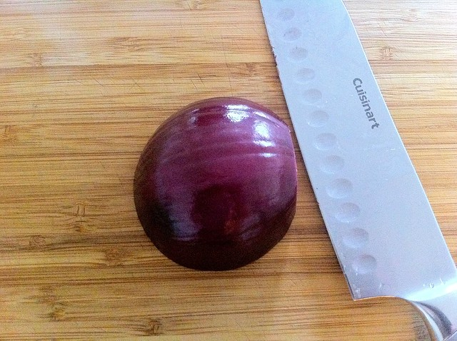 1/2 Red Onion