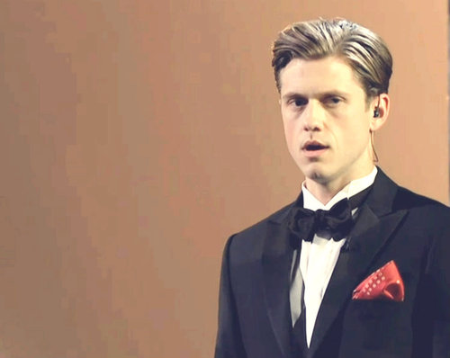 Aaronjolras Tveit at the Oscars