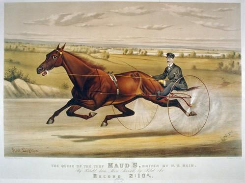 004-Imagen carreras caballos trotones-Library of Congress