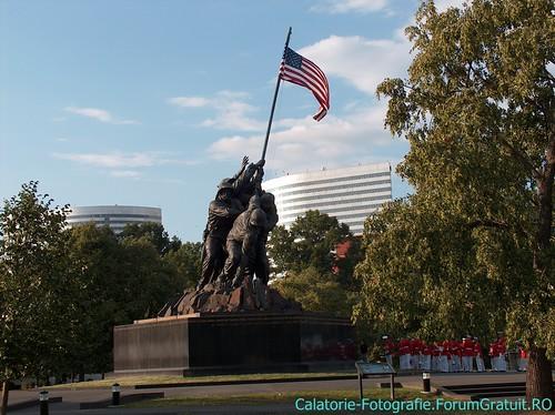 Memorialul Iwo Jima (Arlington, VA), locul unde SUA își comemorează eroii 8509251355_1ce24801ae