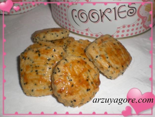 çörekotlu kurabiye