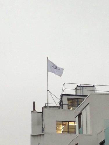 Closer flag