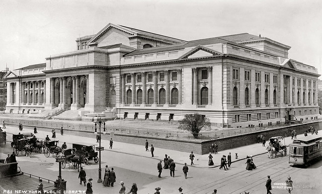 1908 new york library