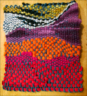 amorphous tapestry swatch