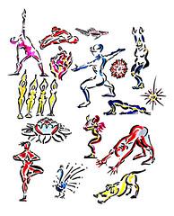 Yoga Doodles