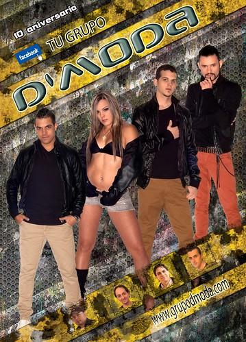 D'Moda 2013 - grupo - cartel