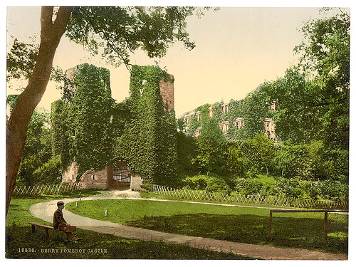 [Berry Pomeroy Castle, Dartmouth, England]  (LOC)