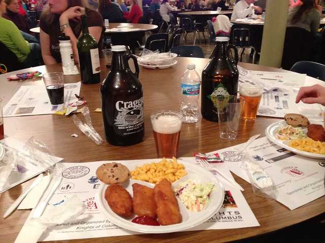 St. Alphonsus knows how to do a proper #FishFry -