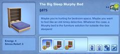The Big Sleep Murphy Bed