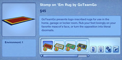 Stomp on Em Rug by GoTeamGo