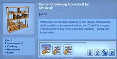 Herbendubelworg Bookshelf by SPROOP