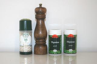 03 - Zutat Gewürze / Ingredient spices