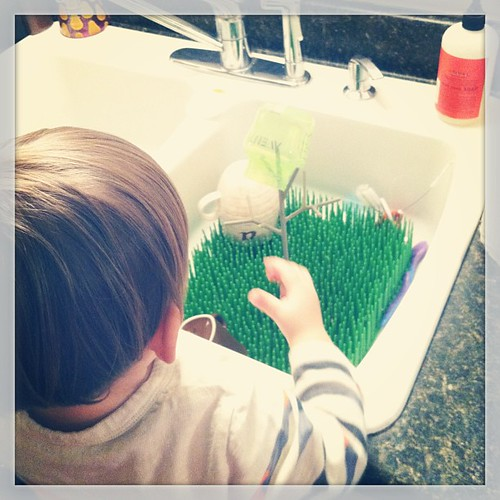 #freestyle dish washing #declan #projectlife365