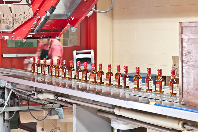 Assembly Line - Tour of the Maker's Mark Distillery | PopArtichoke.com