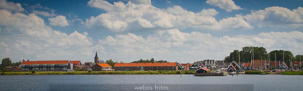 Marken, yendo desde Volendam