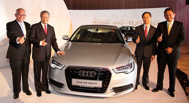 The all new Audi A6 Hybrid