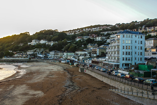 Ventnor en la Isla de Wight