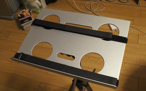 三脚PCデスク