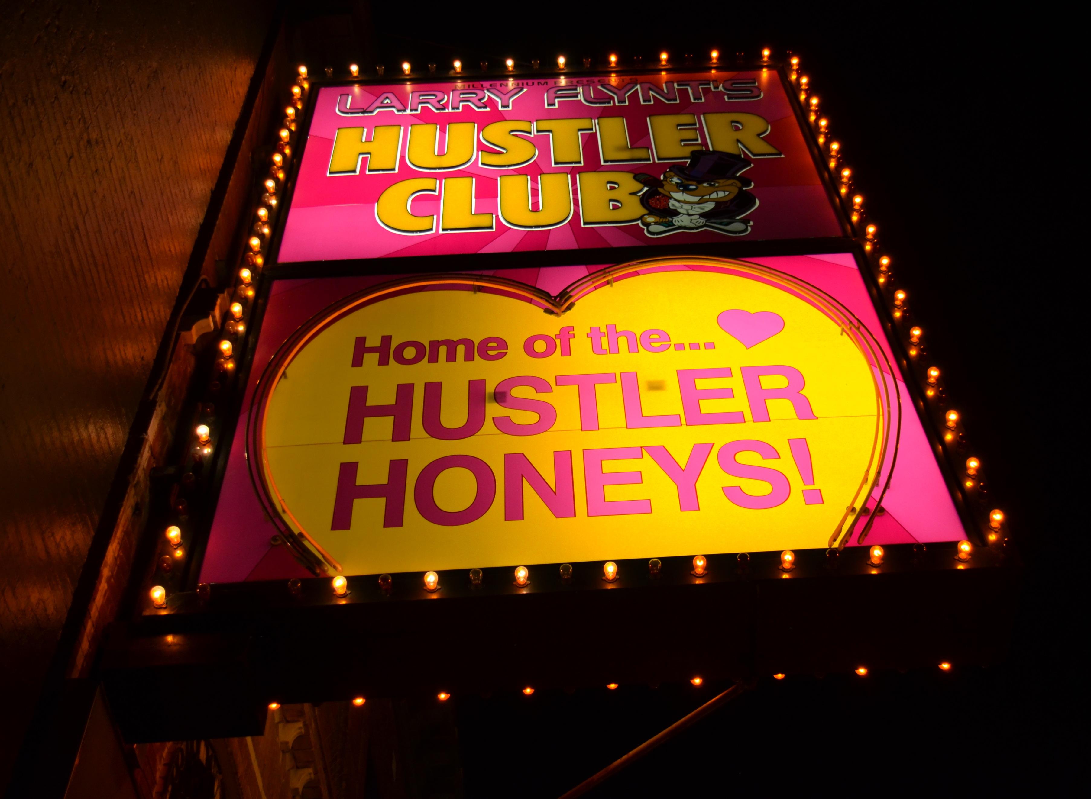 Larry flint hustler clubs the