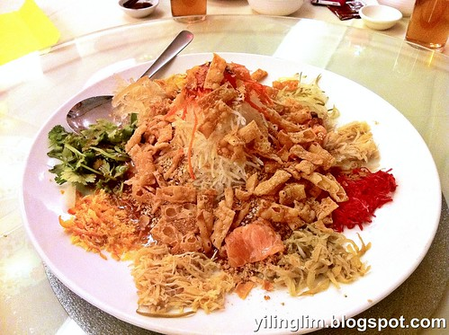 Prosperity Salmon & Sea Bird's Nest Yee Sang