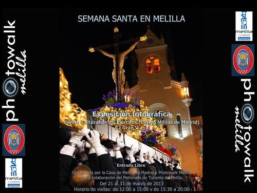 Semana Santa en Melilla - Exposición Fotográfica - Centro Cultural de los Ejércitos - Casino Militar de Madrid - Gran Vía 13 Madrid