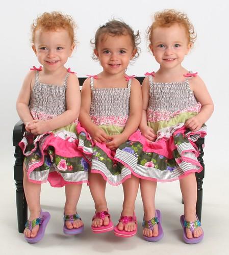 Three spring cuties