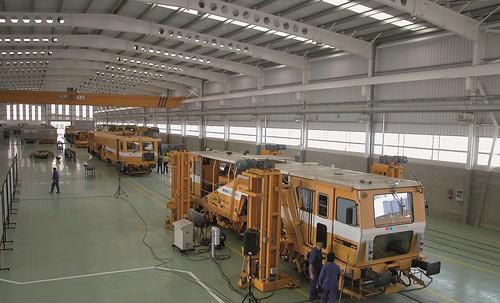 GMF, primera empresa española certificada para el mantenimiento de vagones de mercancías en Europa