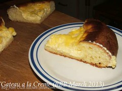 Gateau a la Creme (BBB March 2013)