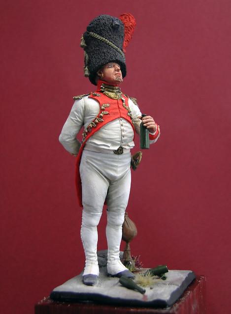Oficial Granaderos Holandés, Guardia Imperial, 1804-1812 - Art Girona 8562169469_2db5123ae3_z