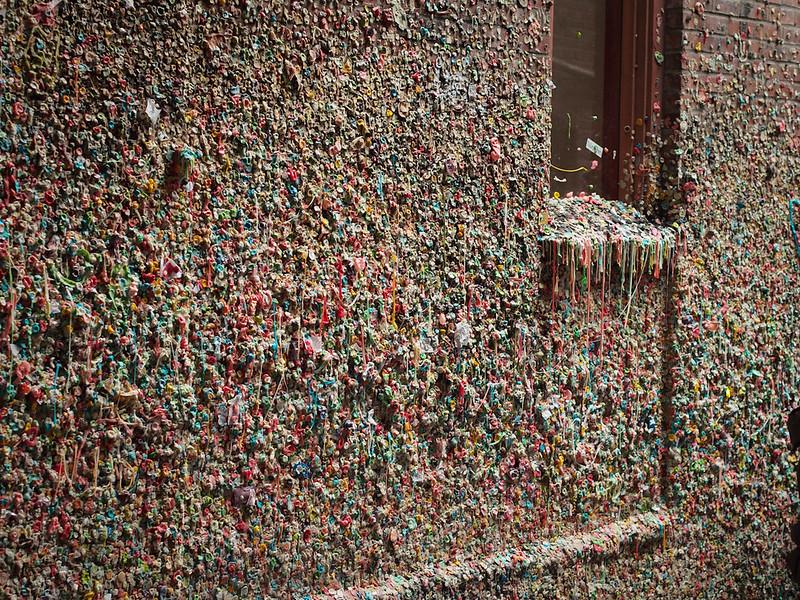 Market Street Gum Wall
