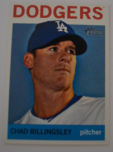 Chad Billingsley Topps Heritage 2013
