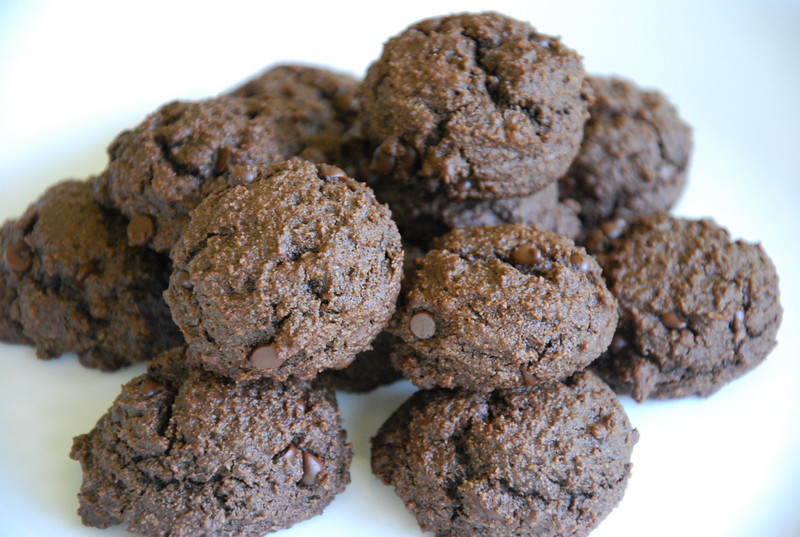 grain-free double chocolate chip cookies