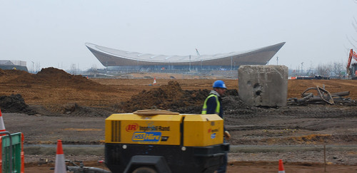 Velodrome, March 2013 by charlieinskip